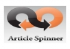 give you 40 spintax articles