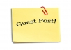 write guest post on my PR1 blog and link back to your site