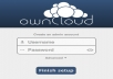 setup your ownCloud dropbox clone on your hosting or give 20gb free hosting