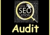 do 2 SEO Audit Reports for your Site and your Competitors
