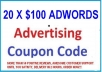 give you 2000 USD Adwords Coupon