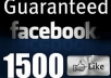 Add 1500++ Real FacebookPhoto Likes / Fanpage Likes
