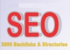 submit Your Site to 3000 BACKLINKS And Directories,Ping To Top 20 Search Engine