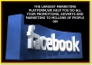 Advertise Your Links To Huge 5 Million People On Facebook With Proofs And Bonus In Less Than 12 Hours After Ordering