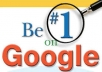 give you a step by step guide to be #1 on Google