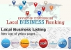 submit your business details on the 50+ TOP US CITATION SITES to boost your google places listing