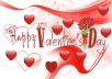 write your valentines Message on any image / make facebook cover page