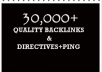 submit Your Website to 32000 backlinks and Directories and ping them all
