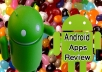 post 15 reviews with 5 star ratings to android apps & 15 G plus
