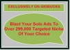 Blast Your Solo Ads To Over 299,000 Targeted Niche Of Your Choice