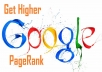 manually blog 60 actual highPR backlinks on PR7 to PR3