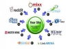submit your site or blog MANUALLY to 500 Social Bookmarking sites PR4 to PR8