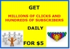 Show How To Get MILLIONS of Clicks, Hundreds of Subscribers Per Day