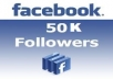 give 50,000 Facebook followers