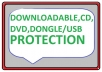 copy protect your data dvd usb downloadable