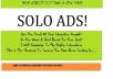 blast your SOLO Ads to Over 800 Million Internet Income seekers to get optins