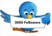 Add you 5000 Real Looking HQ Twitter followers
