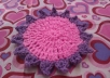 give you lesson for crocheting this coaster for 20 minutes