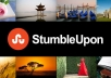 provide you with 25 Stumbleupon followers with no admin access