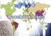 Give Facebook 1kPage Likes for Specific Country