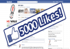 Give you 5000 REAL Likes on your facebook page