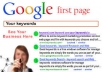 rank your website on the first page of google