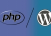 fix any PHP or WordPress error