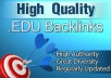 create 75 edu and gov links pr9 to your website