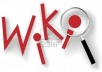 Build 250 PR2+ Wiki Contextual Links in 50 Hours for your Websites