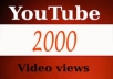 promote your youtube video to more than 200 viewers