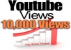 give you 10000 YouTube Views REAL Human Guaranteed with high retention rate