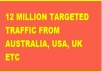 reveal How To Get Over 12 Million Free Targeted TRAFFIC to Your website Now