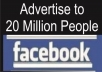 Promote Your Link Worldwide With 20 million Facebook Users