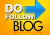 make High Quality  50 Manual blog comments 6 to 2 Dofollow Actual page rank