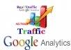 Provide 4k Google Analytics Traffic Mostly USA