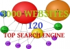 submit your link,site to 3000 websites and top 120 search engines of all time