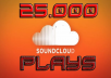 add 25.000 soundcloud plays + 500 downloads on your soundcloud song!!!