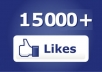add 10000 genuine Facebook likes to increase your SEO & Social Media