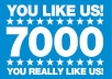 Add 7,000+ Facebook Fan Page Likes within 24-72 hours