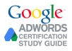 send you Google Adwords Exam Materials for Fundamental and Advanced Search
