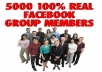 add 2000 REAL FACEBOOK GROUP MEMBERS to your FACEBOOK GROUP