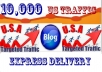 send 10,000 USA real visitors + Bonus