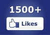 give you 1500 to 1700 Real looking [PERMANENT] facebook likes or fans to your fanpages within 24 hours