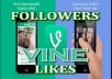 add 16,000 Vine Followers Or Likes Or Revine