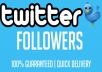give you HIGH QUALITY 30000 twitter followers in 72 hours