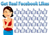 add Facebook real likes 3000 ++  guaranteed for