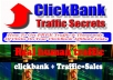 get You Real HUMAN Traffic For your CLICKBANK Products With My Secret Source
