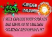 explode your solo ads and email ad to 1m strategic responsive list