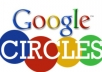 give 200+ Google Circle followers to your Plus page or profile
