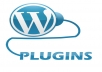 install 3 plugins on your wordpress site